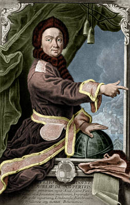 Pierre Louis Maupertuis, French Polymath Art Print