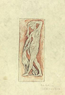 Pierre Roche, Diane Au Levrier Diana And A Greyhound Art Print