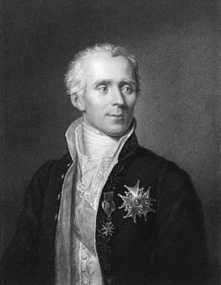Pierre Photograph - Pierre-simon Laplace by Underwood Archives