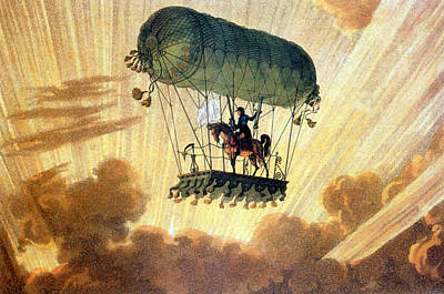 Photograph - Pierre Testu-brissy, French Balloonist by Science Source
