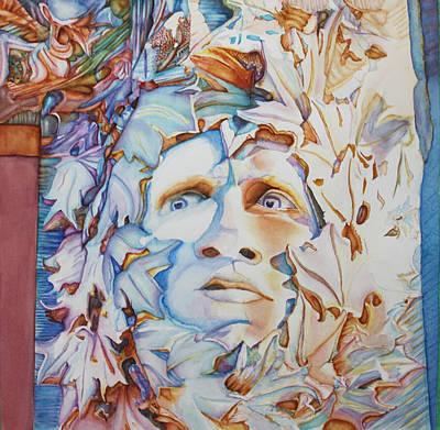 Pierre The Green Man Art Print