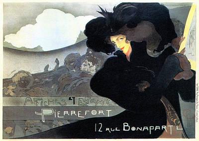 Pierrefort Poster Seller Art Print