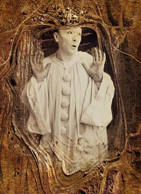 Pierrot Print by Dan Hill