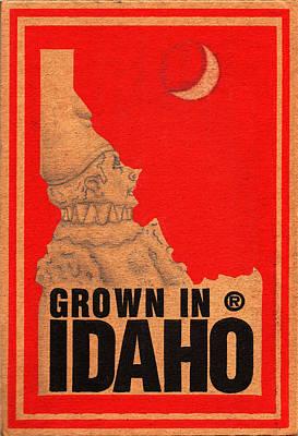 Drawing - Pierrot Of Idaho by Ismael Cavazos
