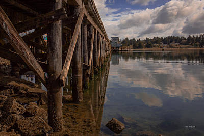 Photograph - Pierside.... Charleston Harbor  Coos Bay Oregon by Tim Bryan