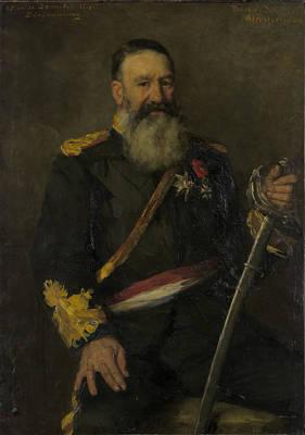 Piet J. Joubert, 1831-1900, Commandant-general Of The South Art Print by Litz Collection