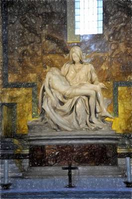 Photograph - Pieta by Bill Howard