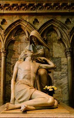 Pieta Art Print by Dan Sproul