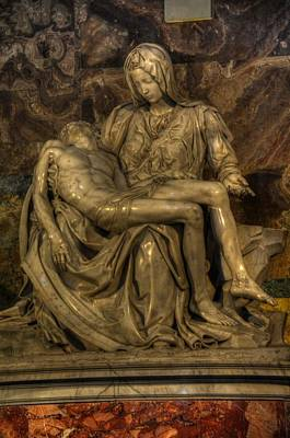 Photograph - Pieta by Michael Kirk