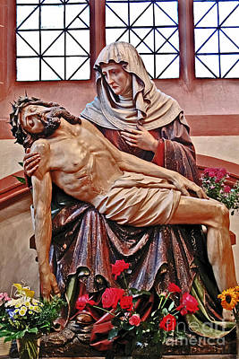 Photograph - Pieta Of St Bartholomew by Elvis Vaughn