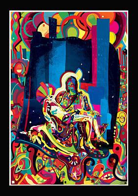 Pieta Digital Art - Pieta by Vladimir Stanisevic