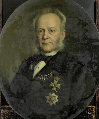 Pieter Mijer, 1812-81, Governor-general Of Dutch East Indies Art Print by Litz Collection