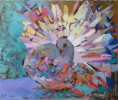 Painting - Pigeon by GALA Koleva