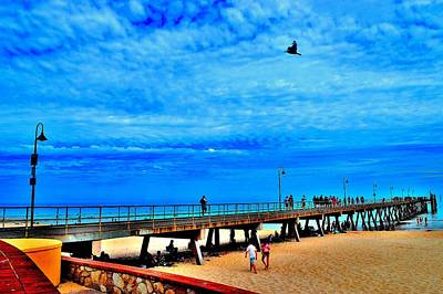 Pigeon Pier - Glenelg Beach - Australia Art Print