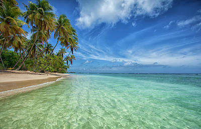 Trinidad And Tobago Wall Art - Photograph - Pigeon Point Beach by Timothy Corbin