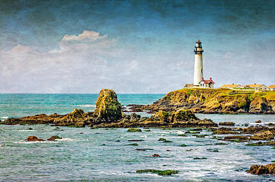 Photograph - Pigeon Point Light by James Hammond