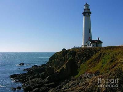 Photograph - Pigeon Point Light Station by Carol Groenen