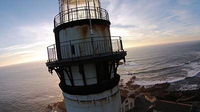 Painting - Pigeon Point Lighthouse 2 by David Junod