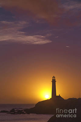 Photograph - Pigeon Point Lighthouse 2 by Theresa Ramos-DuVon