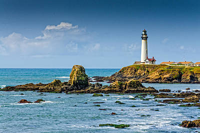 Photograph - Pigeon Point Lighthouse by James Hammond
