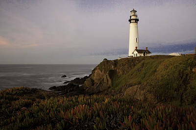 Pigeon Point Lighthouse Art Print