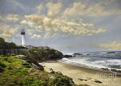Photograph - Pigeon Point Lighthouse by Sharon Foster