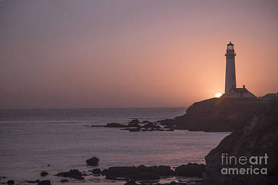 Photograph - Pigeon Point Lighthouse by Theresa Ramos-DuVon