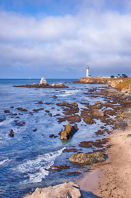 Photograph - Pigeon Point - Sun Light by Harold Rau