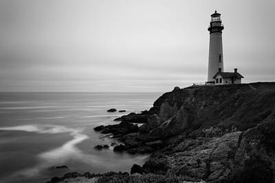 Pigeon Point Art Print