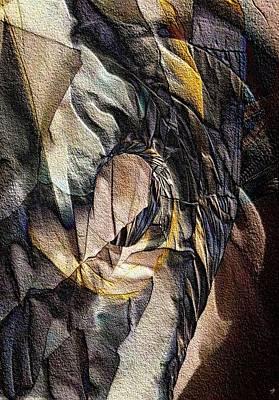 Pigmented Sandstone Art Print