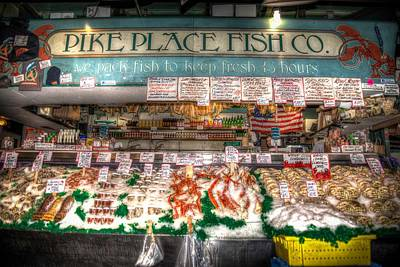 Photograph - Pike Place Fish Company II by Spencer McDonald