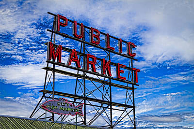 Photograph - Pike Place Market by Chris Reed