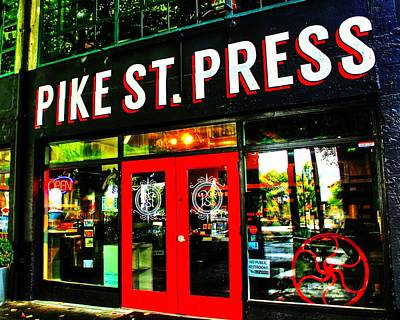 Photograph - Pike Press by Benjamin Yeager