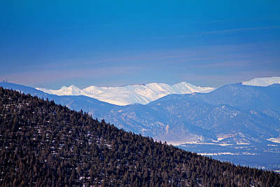 Photograph - Pikes Peak 1 by Elizabeth  Doran
