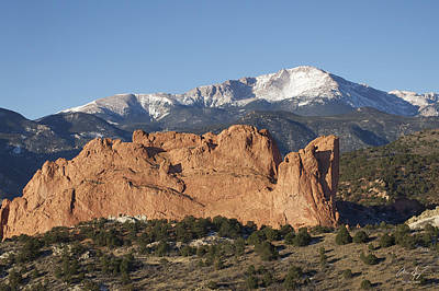 Rocky In Spring Photograph - Pikes Peak 3 by Aaron Spong