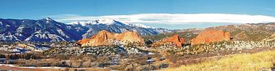 Photograph - Pikes Peak And Garden Of The Gods by Joe Duket