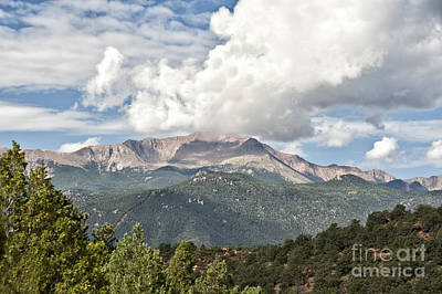 Photograph - Pikes Peak by Cheryl Davis