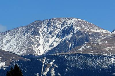 Photograph - Pikes Peak Close-up by Marilyn Burton