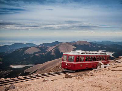 Photograph - Pikes Peak Cog Railway by Jim DeLillo