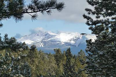 Photograph - Pikes Peak On A Beautiful Day by Marilyn Burton
