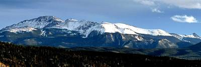 Photograph - Pikes Peak Panorama by Marilyn Burton