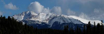 Photograph - Pikes Peak - Panoramic by Marilyn Burton