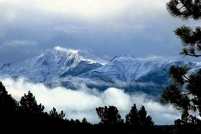 Photograph - Pikes Peak - Stormy by Marilyn Burton