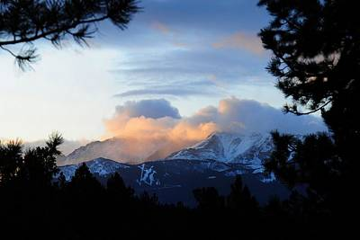 Photograph - Pikes Peak Sunrise by Marilyn Burton