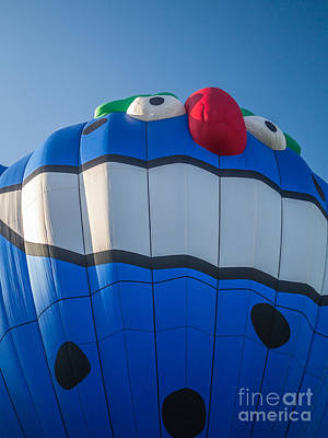 Basket Photograph - Piko The Hot Air Balloon by Edward Fielding