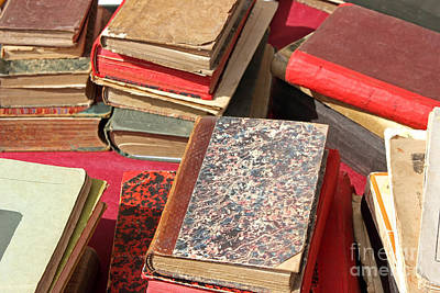 Novel Photograph - Piles Of Old Books by Kiril Stanchev