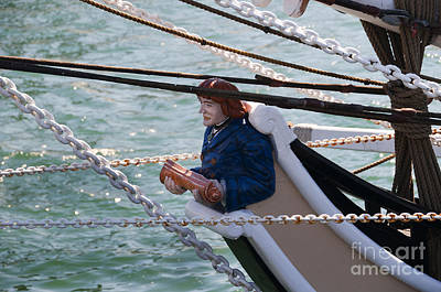 Photograph - Pilgrim Figurehead by Brenda Kean