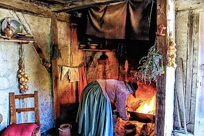 Pilgrim Ladies Kitchen Amenities Art Print by Constantine Gregory