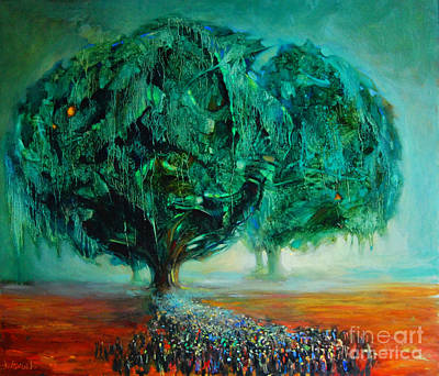 Pilgrimage Original by Michal Kwarciak
