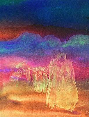 Sacred Feminine Painting -  Spiritual Pilgrimage by Studio Tolere